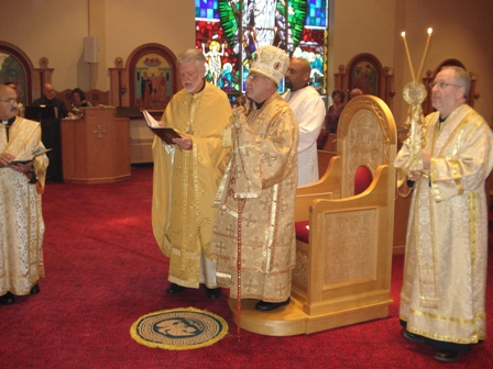 His Grace Visits St. Mary, 2013