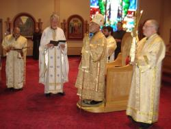 Bishop Thomas Visits St  Mary Antiochian Orthodox Church