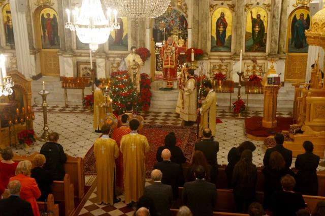 Nativity Liturgy at St. Nicholas Cathedral, Brooklyn, NY: 2015