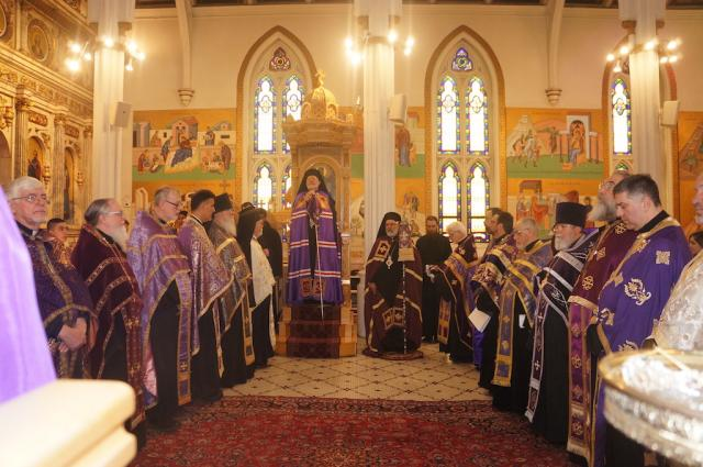 Sunday of Orthodoxy, 2017: St. Nicholas Cathedral, Brooklyn, NY