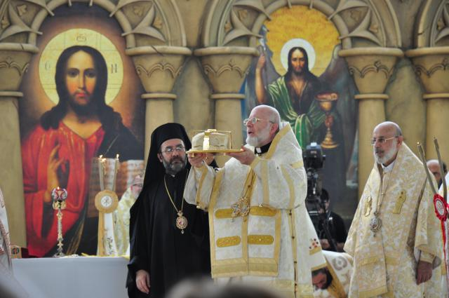 Metropolitan Joseph Serves at the Patriarchal Divine Liturgy, Balamand, 2014
