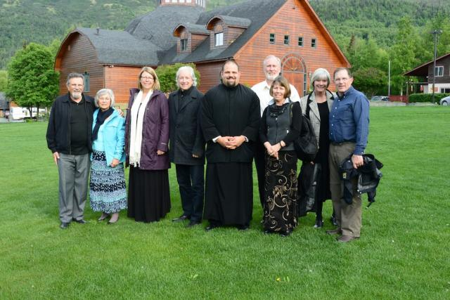 Alaska pilgrimage group from St. Ignatius Orthodox Church, Twin Falls, ID