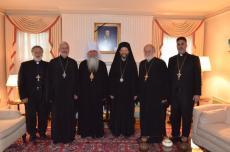 Visit of Metropolitan Tikhon to Metropolitan Silouan