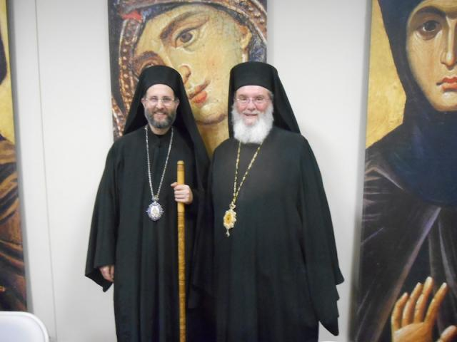 Bishop Basil and Metropolitan Silouan