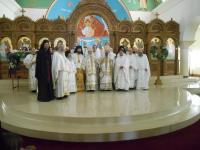 Clergy with Metropolitan Silouan, Wichita, KS