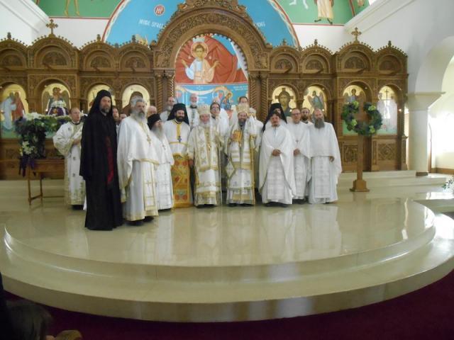 Clergy with Metropolitan Silouan, Wichita, KS