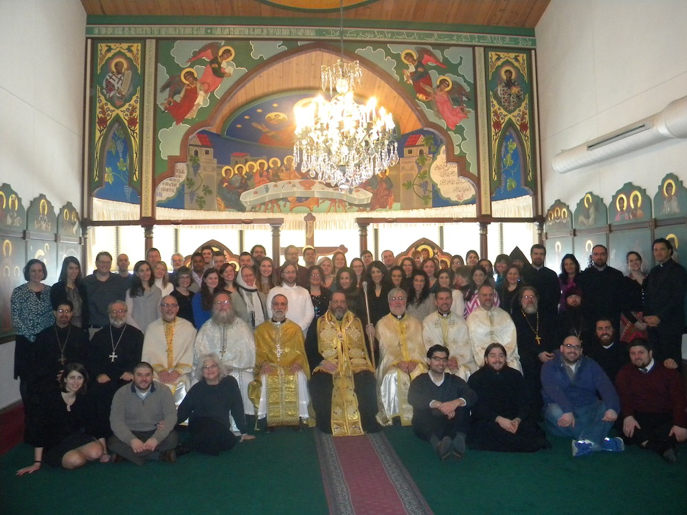 Attendees at the 12th Annual Orthodox Christian Camp and Youth Workers Conference