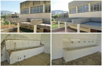 Ehmej School (near Byblos, Lebanon) before and after