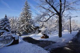 Winter at Archdiocese Headquarters