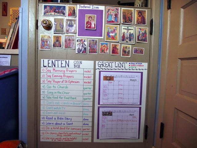 Family Activites for the Lenten Journey