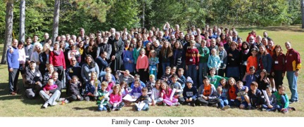 2015 Fall Family Camp with Bishop Anthony, in Minnesota