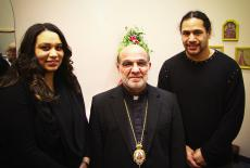 FOCUS Fundraiser with Bishop Thomas and Troy Polamalu