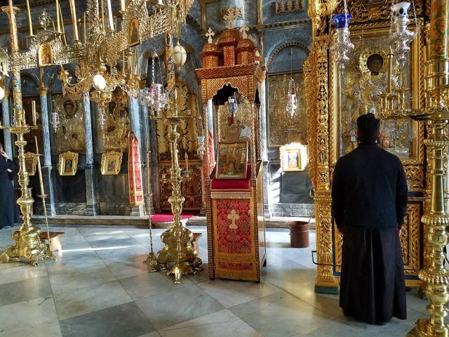 Fr. Paul Girgis at Xenophontos