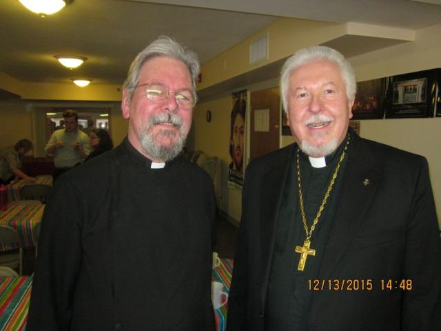 Fr. Alban and Fr. Olaf