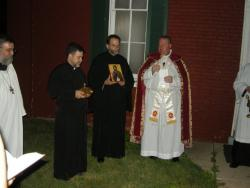 Fr. James with visiting priests