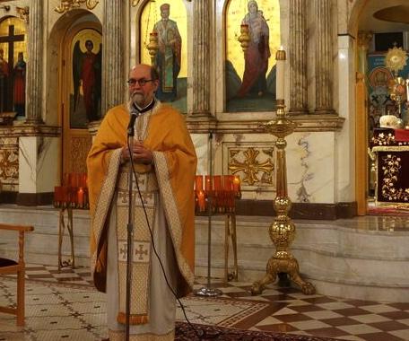 Fr. Chad Hatfield of St. Vladimir's Seminary, homilist for Jubilee Celebration for St. Raphael, Nov. 6-7, 2015