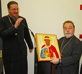 Fr. Elias Bitar Retires from St. Vladimir's Seminary
