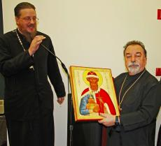 Fr. Elias Bitar Retires from St. Vladimir's Seminary