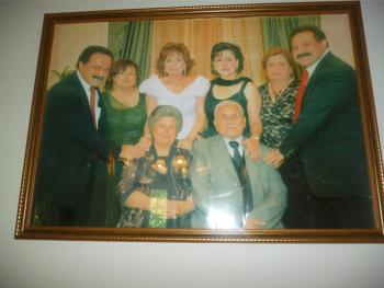 Members of the Hyder family