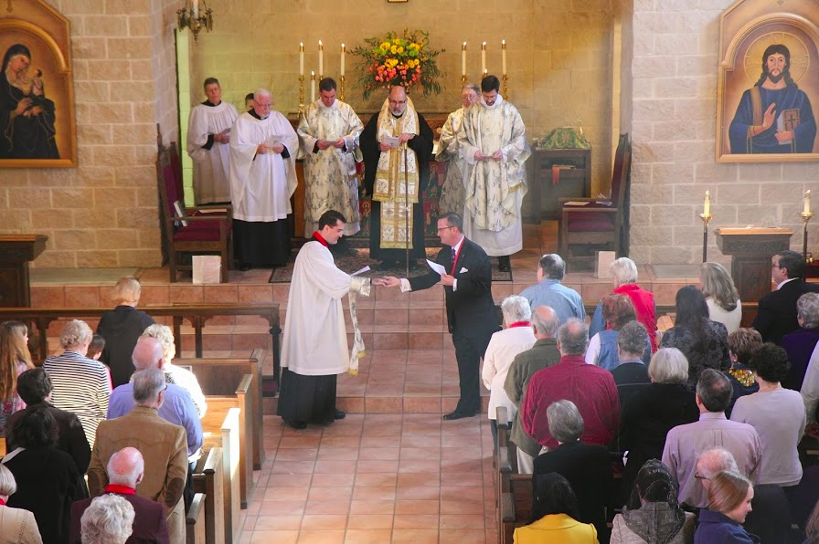 Fr. Mark McNary Returns to Lead St. Peter Church + Fort Worth, TX