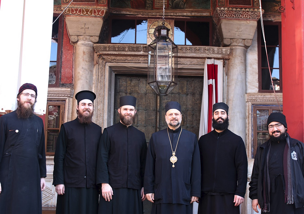 Antiochian Seminarians Visit the Holy Mountain