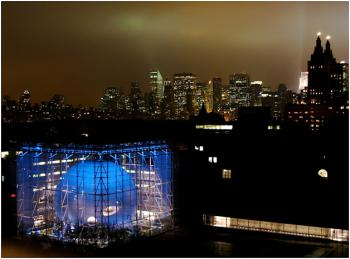 Hayden Planetarium in New York City