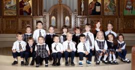 Students at Christ the Savior Academy, Wichita