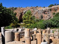 Caesarea Philippi, area of Peter's Profession (Mt 16:13-19)