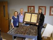 Donation to Heritage Museum