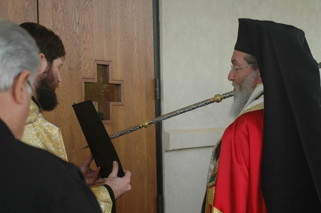 Opening the Doors of Holy Ascension Temple + Norman, OK
