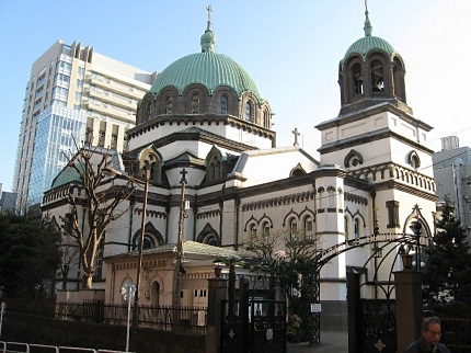 Holy Resurrection Cathedral in Tokyo