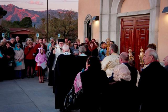Opening the Doors of Holy Resurrection Church + Tucson, AZ