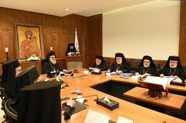Holy Synod Meeting October 2014