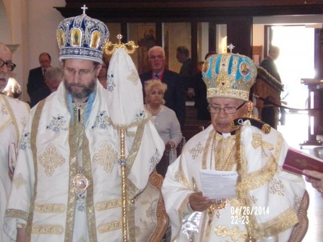 Metropolitan Silouan and Bishop Antoun