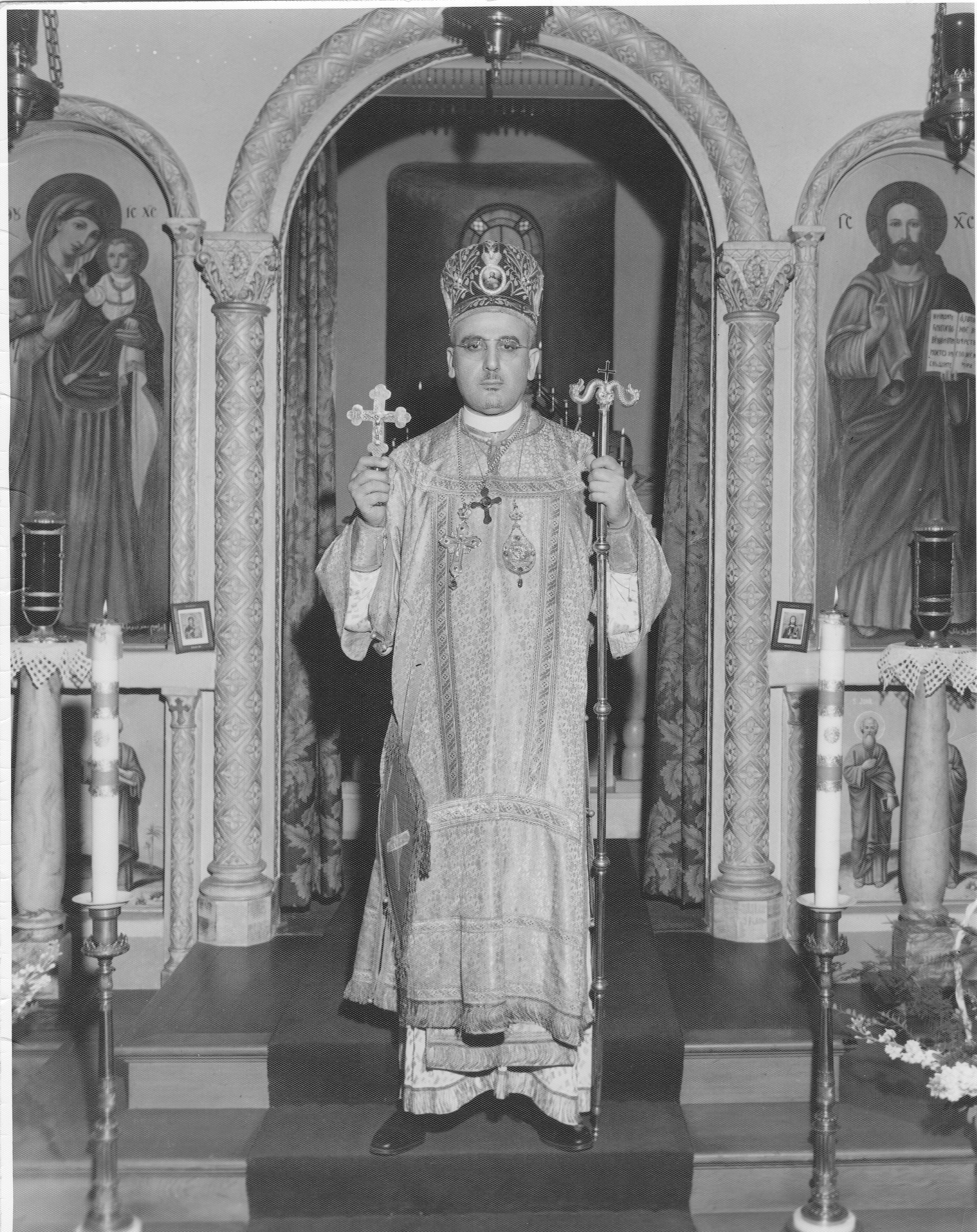 Metropolitan Antony in Los Angeles