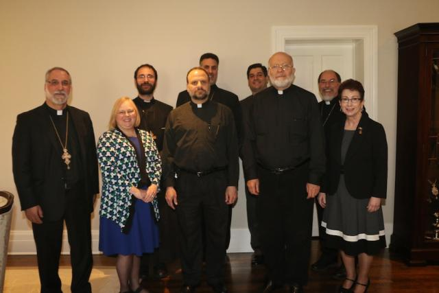Metropolitan Joseph meets with youth ministry leaders, April 21, 2015