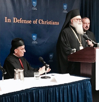 In Defense of Christians Press Conference at the National Press Club