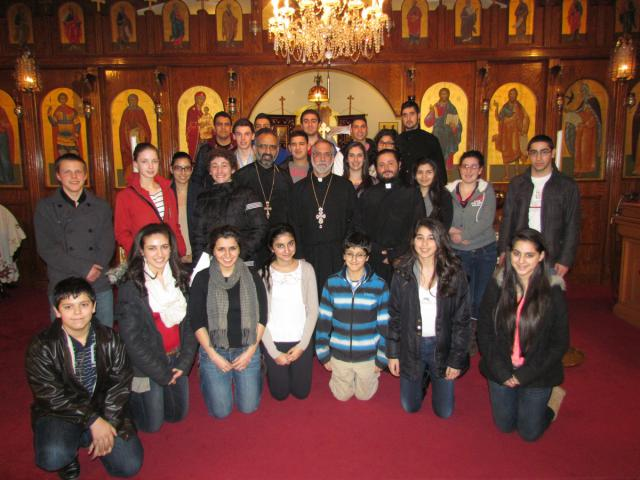 Group photo of Fr. Joseph Purpura's Halifax workshop