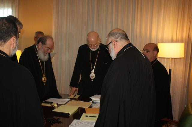 Hierarchs at Fall Meetings, Woodland Hills, CA: Oct. 23-25, 2015