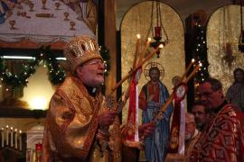 Metropolitan Joseph, the Feast of St. Nicholas, 2015, Los Angeles