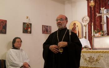 Bishop Thomas visits St. Gregory the Great in Washington D.C., May 10, 2014