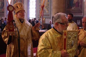 Metropolitan Joseph at St. Nicholas Cathedral, February 21, 2016