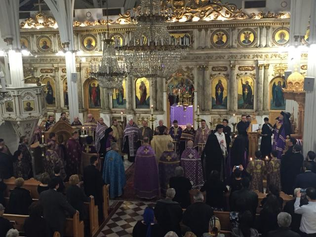 Sunday of Orthodoxy, Vespers on March 20, 2016