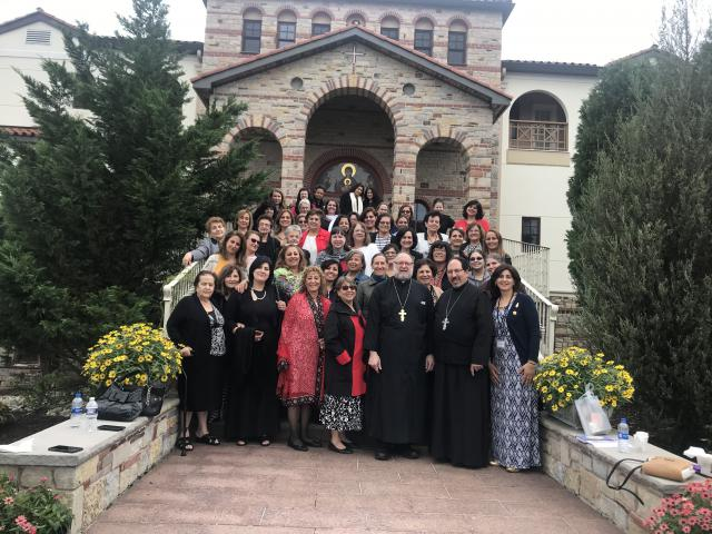 Visiting Holy Protection Monastery, White Haven, PA