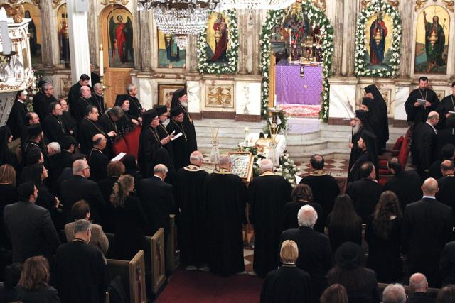 March 28 Memorial Services for Metropolitan Philip 2