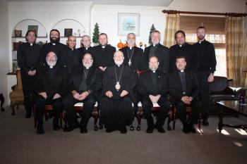 Clergy retreat, Diocese of Worcester, November 2013