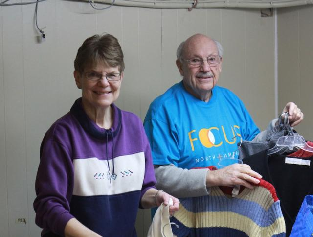 FOCUS Volunteers during arctic winter of 2014