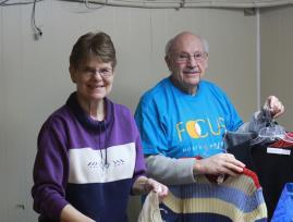 FOCUS Volunteers during arctic winter of 2014