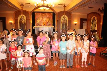 Children at the Diocese of Los Angeles PLC