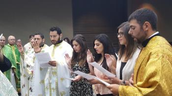 Installation of Young Adult Ministry officers